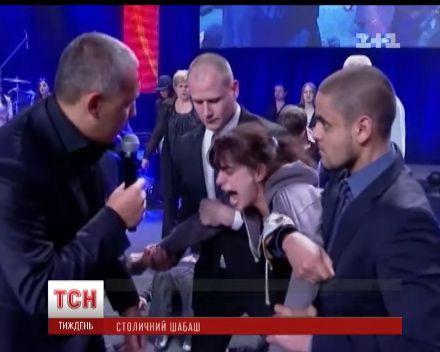 Владимир Мунтян изгоняет бесов / Фото: ТСН