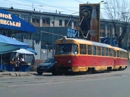 Лукьянівка, трамвай / Фото : thekievtimes.ua