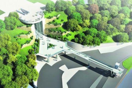 Смотровая площадка Мариинского парка, план