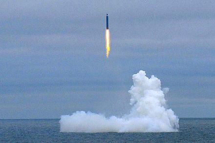 ракета, Запуск «Булавы», Фото: Министерство обороны России