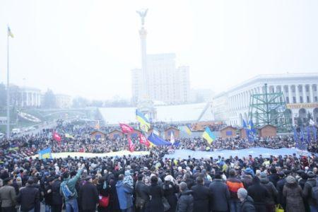Евромайдан в Киеве / Фото: Дмитрий Ларин