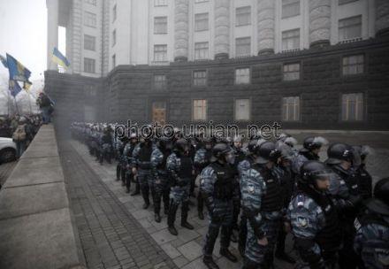 """Беркут"" напал на людей, евромайдан"