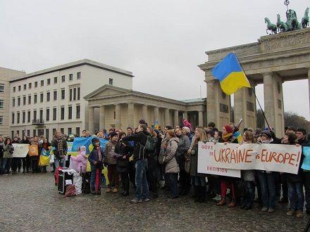 В Берлин съехались украинцы диаспоры со всей Германии / Facebook / Lisa.Nebesna
