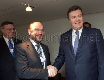 Мартин Шульц Янукович