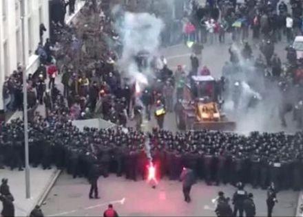 Милиция частично установила инициаторов беспорядков в столице