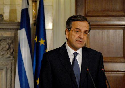 Прем`єр Греції Антоніс Самарас / Фото: Вікіпедія