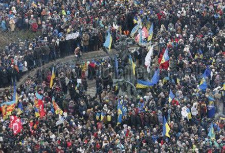 Четвертое воскресенье центр Киева не узнать