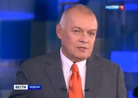 Киселев снова наврал о событиях в Украине