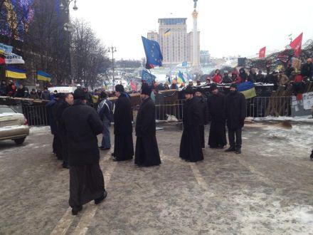 Священники осудили действия