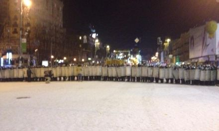 Крещатик около ЦУМа, фото Mykhailyna Skoryk
