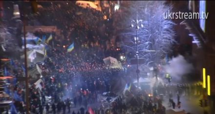 На Майдане продолжается противостояние