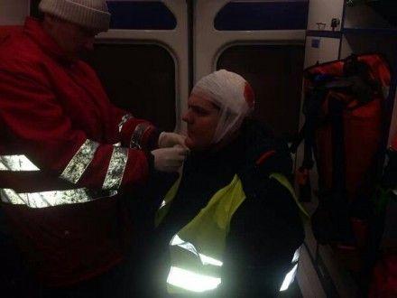 Врачи скорой оказали Ильенко первую медицинскую помощь