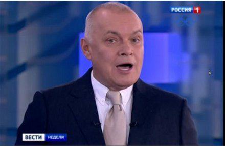 Киселев - верный пропагандист Путина / Скриншот