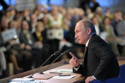 Путин рассказал о возможности ввода войс в Крым, фото пресс-службы президента РФ