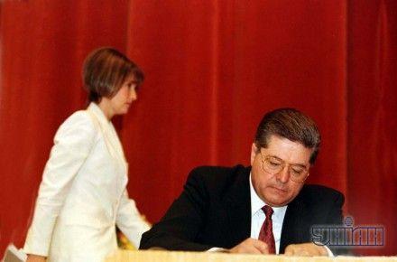 Павел Лазаренко и Юлия Тимошенко