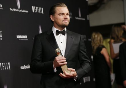 """Леонардо Ді Капріо зіграє головну роль у фільмі """"Не дивись вгору"""" / фото REUTERS"""