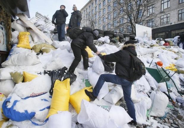 Украина переживает элементы городской герильи