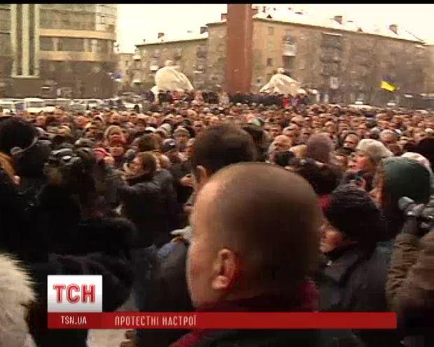 В Тернополе милиция открыла уголовное производство по факту захвата здания облгосадминистрации / ТСН