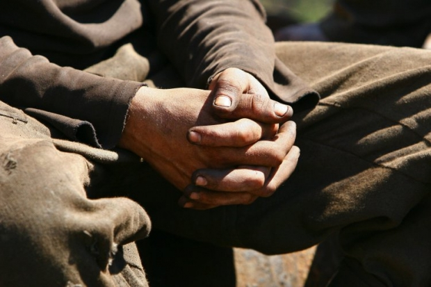 Ростовские шахтеры объявили голодовку из-за долгов по зарплате / Фото УНИАН