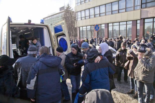 Пострадавшие от светошумовых гранат / golos.zp.ua
