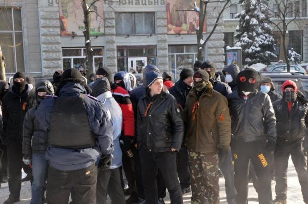 В Киев отправляются парни спортивного телосложения