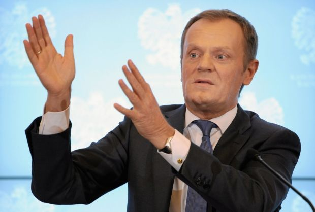 Tusk discusses situation in Ukraine with leaders of Ukrainian opposition/ Reuters