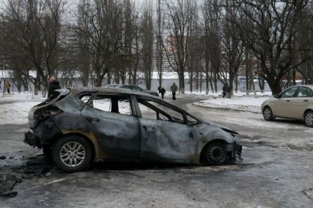 У Києві масово підпалюють автомобілі  / forum.autoua.net