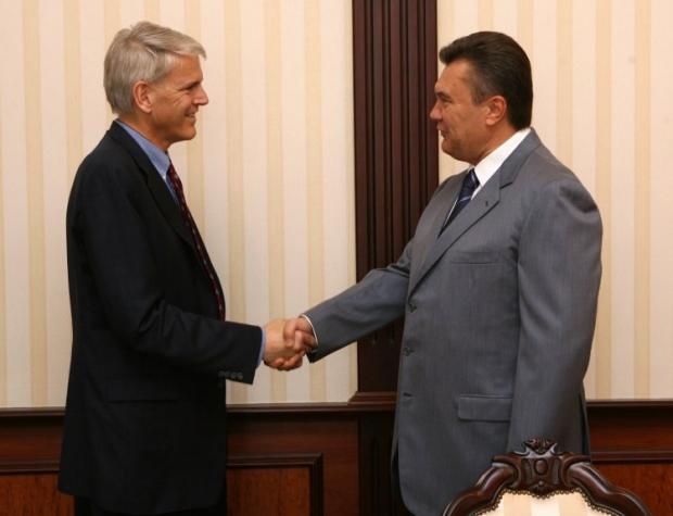 Пайфер і Віктор Янукович