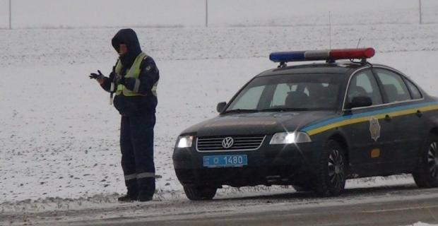Правоохранители зафиксировали очередное ДТП / Фото УНИАН