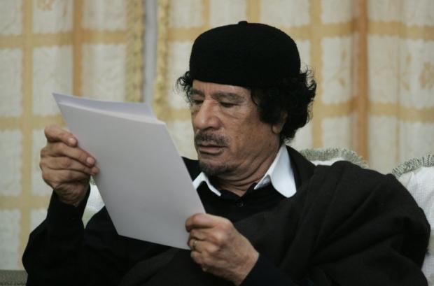 Каддафі керував Лівією в 1969-2011 роках