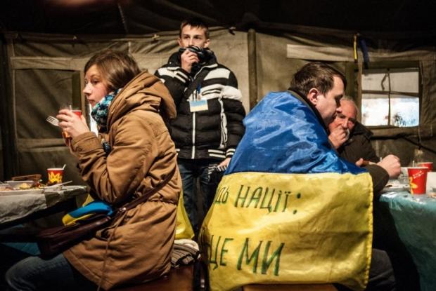 Майданівцям бракує харчів