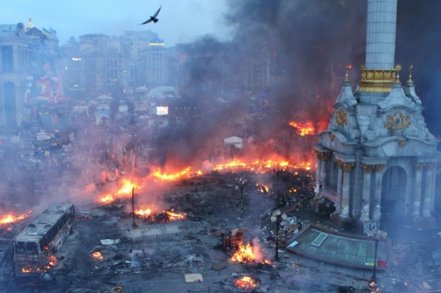 На 19:00 на Майдане запланирован митинг