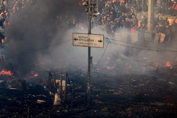 Противостояния на Майдане носят одиночный характер