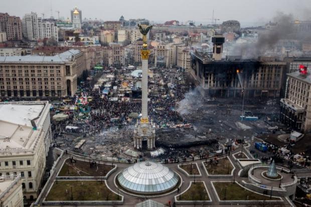 Міліціонери з Західної України приїхали захищати майданівців