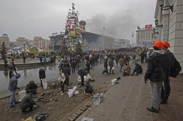 На Майдане заявляют, что поймали снайпера
