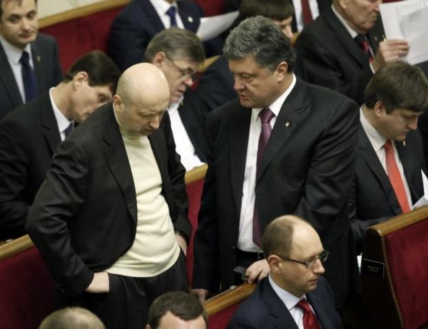 Турчинов и Порошенко могут стать новыми спикерами Верховной Рады
