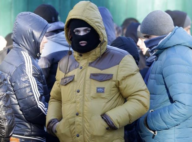 В Києві судять тітушок / фото УНІАН