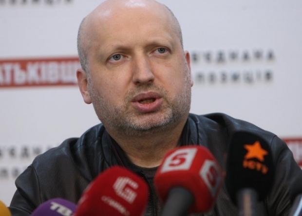 Турчинов стал исполняющи обязанности Президента