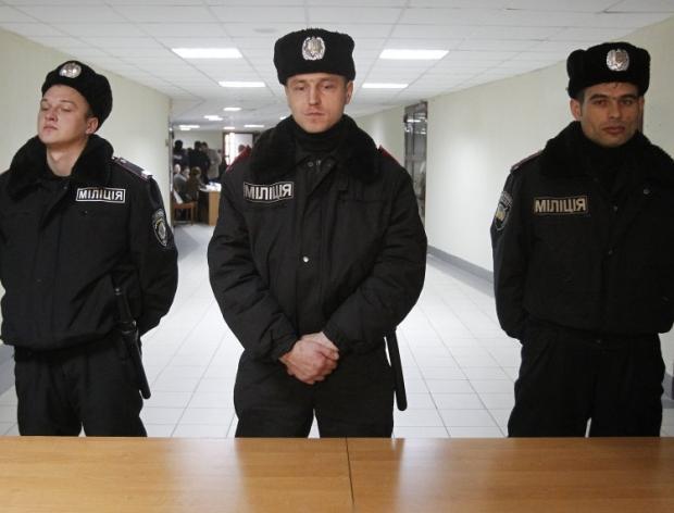 Милиционеры в Соломенской РГА