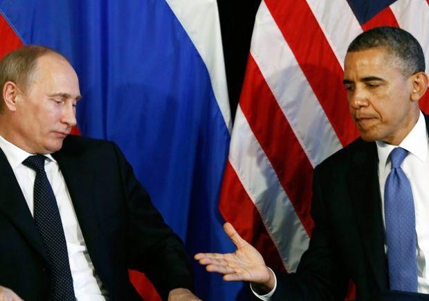Владимир Путин и Барак Обама / REUTERS