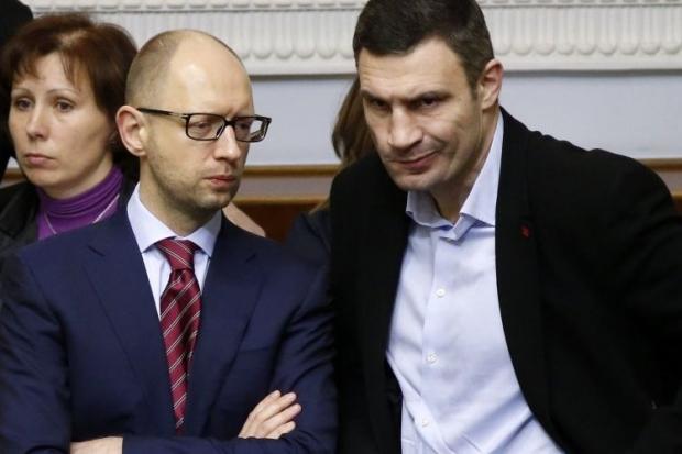 Яценюк говорит, что украинская власть не поддастся на провокации со стороны России