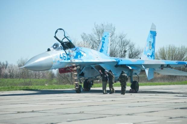 На перехват вылетал украинский Су-27