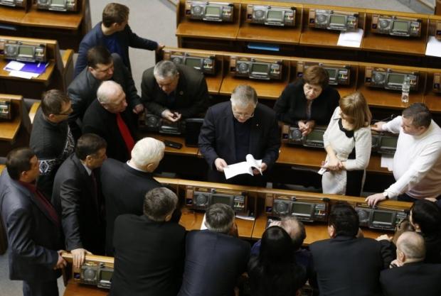 КПУ відмовляється голосувати у Верховній Раді