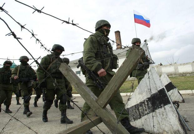 Пресс-секретарь Путина утверждает, что российские войска «никогда не принимали участие и не принимают» в конфликте на востоке Украины / фото REUTERS