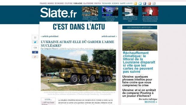 СМИ: Скептики еще в 1993 году предупреждали об опасности отказа Украины от ядерного оружия