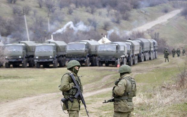 Військові РФ в Криму / REUTERS