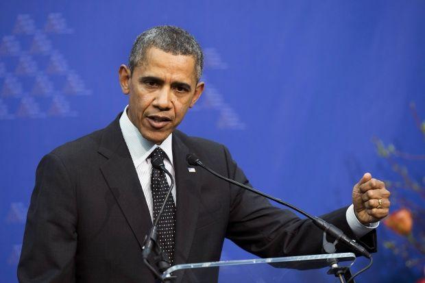 Обама привітав Порошенка / REUTERS