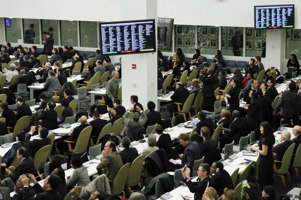 В 1946 году в этот день началось первое заседание Генеральной Ассамблеи ООН / фото REUTERS