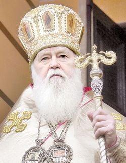 Глава УПЦ КП патриарх Филарет