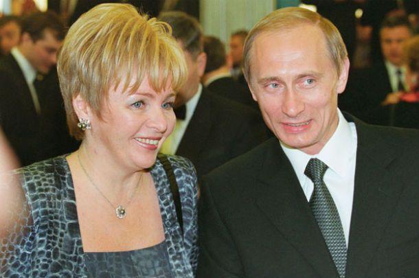 Путин с женой / expert.ru